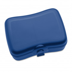 Lunchbox BASIC deep velvet blue, dunkelblau von KOZIOL Design.