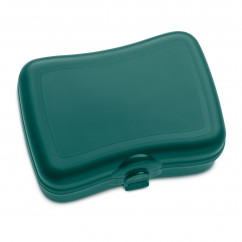 Lunchbox BASIC emerald green, dunkelgrün von KOZIOL Design.