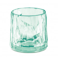 KOZIOL Superglas No.2 Club: unzerbrechliches Trinkglas aus Hightech Kunststoff. Kunststoffglas 250 ml in transparent jade.