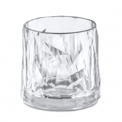 Koziol Trinkglas Superglas Club No.2, transparent. Kunststoffglas 250 ml.