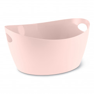 Zuber 4,5 l - Korb mit Tragegriffen - queen pink - Utensilo BOTTICHELLI M rosa - nude aus Kunststoff von Koziol Design. Aufbewahrungskorb, Aufbewahrungsbehälter, Korb ...