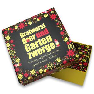 Gesellschaftsspiel Bratwurst, Bier und Gartenzwerge
