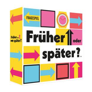 Witziges Gesellschaftsspiel - Früher oder später?. Lustiges Partyspiel, originelles Familienspiel ... von Kylskapspoesi.