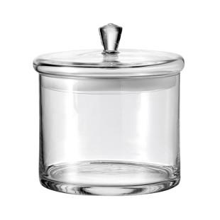Vorratsglas mit Deckel TOP von Leonardo Design. Aufbewahrungsdose aus Glas.