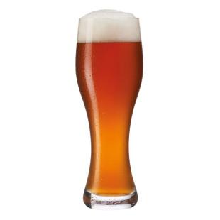 Modernes Weizenbierglas TAVERNA von LEONARDO Design. Bayrisches Weißbierglas 0,5 Liter. Qualitäsglas für Weizenbier.