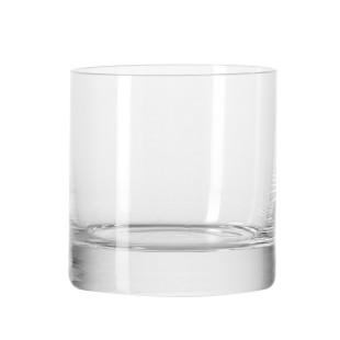 Schlichtes Whiskyglas D.O.F. mit dickem Boden und dünner Wandung aus der Leonardo-Serie BAR. Trinkglas mit 380 ml Volumen für Whisky, Liköre und mehr.