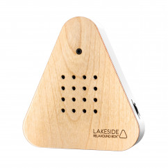 Lakesidebox Holzfront Eiche - Relax Natursound Box Waldsee - Original von Relaxound.