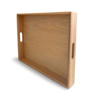 Serviertablett Buche 50 x 37 cm - Lammetal Werkstätten - Tablett aus Holz