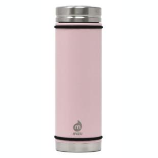 Thermosflasche V7 aus Edelstahl mit 650 ml Füllvolumen. Isolierflasche MIZU - Enduro soft pink.