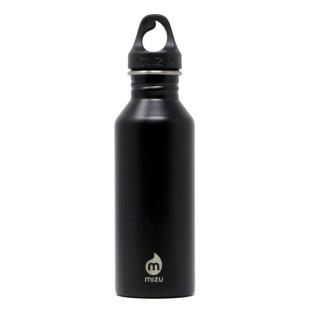 Edelstahl Trinkflasche M5 Enduro in schwarz von MIZU Design - 500 ml.
