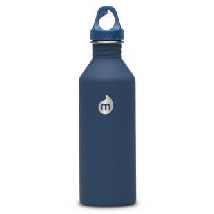 Trinkflasche M8 Edelstahl 800 ml, Enduro dunkelblau