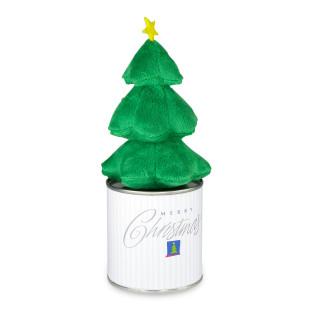 ALBERO, der kleinen Plüsch Weihnachtsbaum mit Magnet aus der Dose