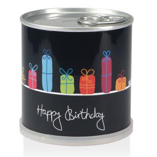 Blumendose Happy Birthday, Geschenke