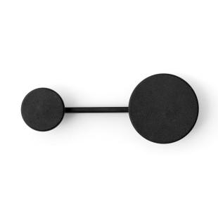 Kleiderhaken Afteroom, schwarz