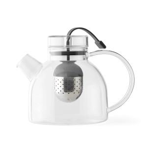 Teekanne mit integrierten Tee-Ei Teesieb - Glaskanne KETTLE 0,75 l - Designt by NORM Architects für Menu Design.
