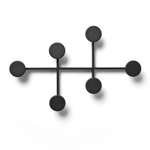 Kleiderhaken / Wandgarderobe Afteroom von MENU Design, schwarz