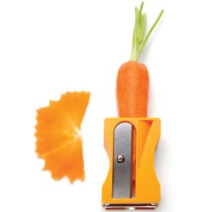 Gemüse Spitzer und Schäler Karoto, orange