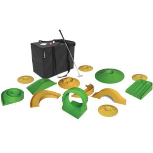 Minigolfspiel Set Basic, 18-teilig