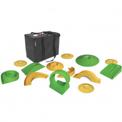 Minigolfspiel Set putting XL, 17-teilig