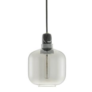 Hängeleuchte Amp Lamp smoke/schwarz - small
