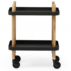 Servierwagen Block Table, schwarz