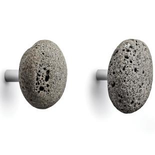 Wandhaken Stone Hooks 2er-Set