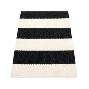 Teppichläufer Kunststoff BOB 120 x 70 cm schwarz-weiß