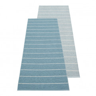 Teppichläufer Kunststoff CARL 180 x 70 cm, fog - dove