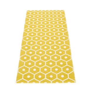 Teppichläufer Kunststoff HONEY 160 x 70 cm mustard gelb