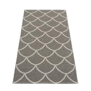 Teppichläufer Kunststoff KOTTE 150 x 70 cm charcoal/warmgrey