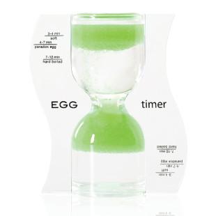 Eieruhr Sanduhr / EGG Timer, lime grün
