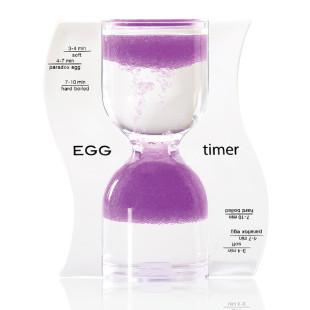 Eieruhr Sanduhr / EGG Timer, purple