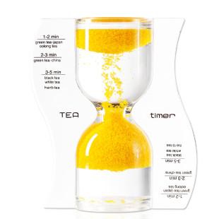 Sanduhr / Teeuhr - Tea Timer, gelb