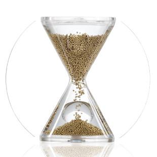 Sanduhr / Timer Opera, gold