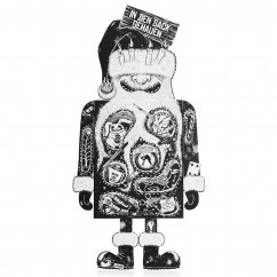 Der lustige Pechkeks Adventskalender CLAUS. Adventskalender mit 24 schwarzen Glückskeksen mit bitterbösen Sprüchen, Beleidigungen ...