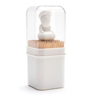 Dekorativer und praktischer Zahnstocherhalter BABU Guru Fakir von Peleg Design.