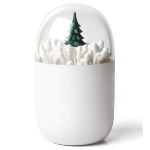 Behälter für Wattestäbchen - Wintertime
