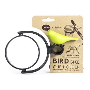 Bird Bike Cup Holder von QUALY Design. Vogel Becherhalter fürs Fahrrad.