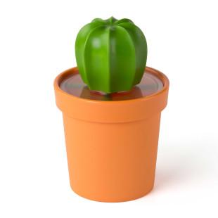 Praktischer Küchenhelfer und Bürohelfer mit Eyecatcher-Faktor! Der dekorative Kaktus Vorratsbehälter CACNISTER von Qualy Design!