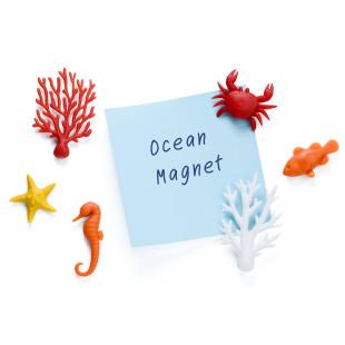 Korallen Magnete OCEAN ECOLOGY 6er-Set
