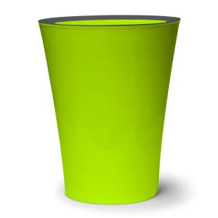 Mini-Mülleimer / Tischeimer Flip Bin grün