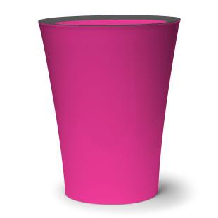 Mini-Mülleimer / Tischeimer Flip Bin pink