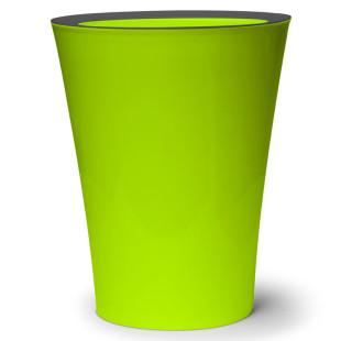 Mülleimer Flip Bin grün