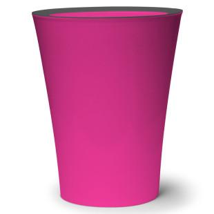 Mülleimer Flip Bin pink