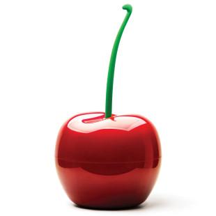 Mülleimer Kirsche rot - Cherry Bin