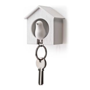 Schlüsselanhänger Sparrow weiß/weiß