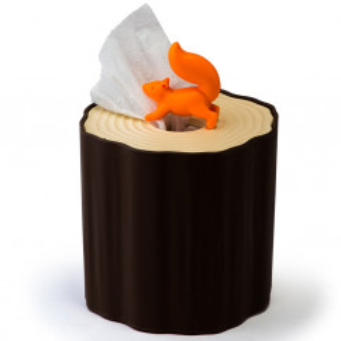 Toilettenpapierspender Toilet Log, Eichhörnchen