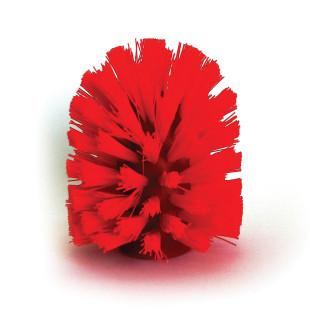 WC-Ersatzbürstenkopf rot für Toilettenbürste Cherry von Qualy