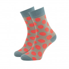 Bunt gestreifter Damen Socken #20 von Remember Design.  Ringelsocken bunt gestreift. Frauen Design Fashionsocken bunt Gr. 36-41