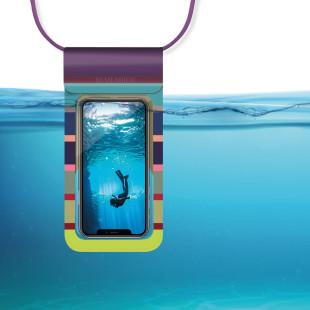 Wasserdichte Handyhülle COSTA von Remember Design. Wasserfeste Umhängehülle fürs Smartphone.